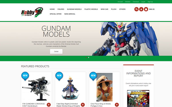E-commerce Website Design with Magento CMS